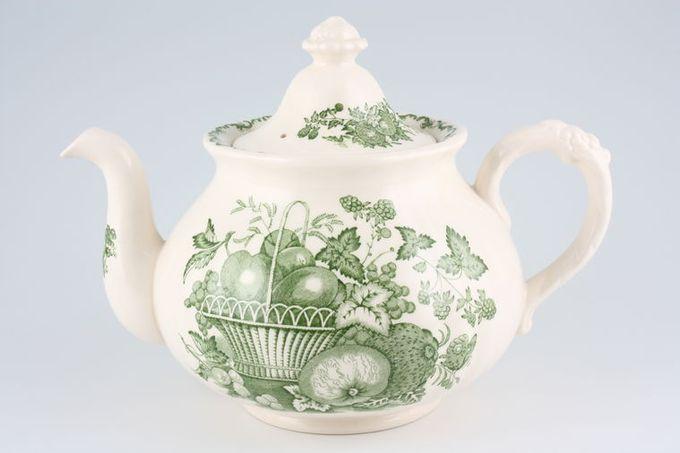 Masons Fruit Basket - Green Teapot 2 1/2pt