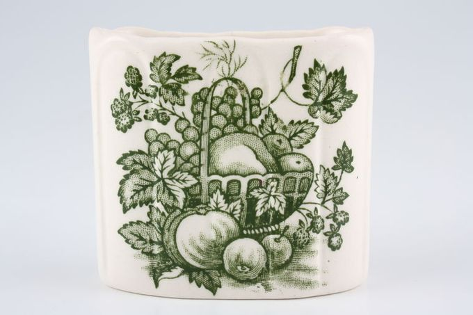 Masons Fruit Basket - Green Pot Toothpick holder