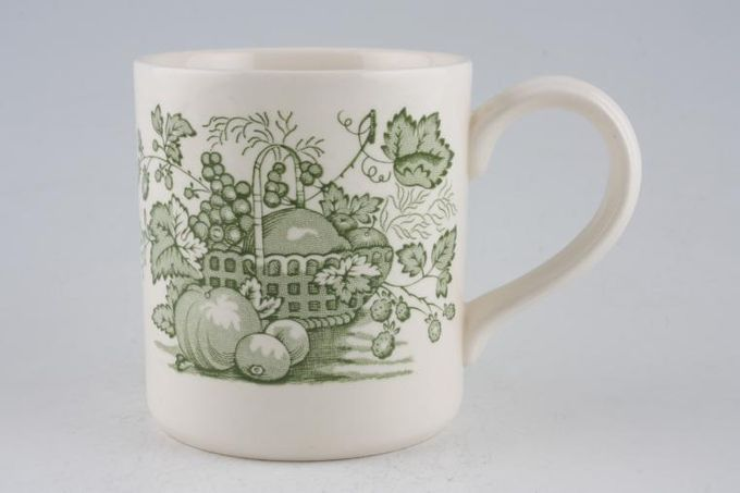 Masons Fruit Basket - Green Mug 3 1/4 x 3 1/2""