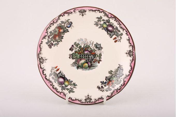 "Masons Fruit Basket - Plum Multi Tea Saucer 5 3/4"""