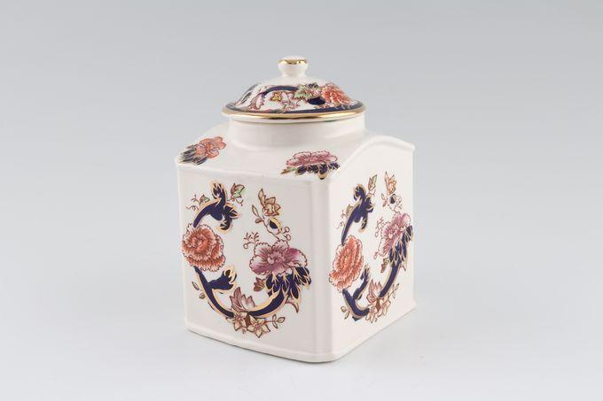 "Masons Mandalay - Blue Jar  - Giftware Nankin jar S/S 5"""