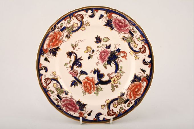 """Masons Mandalay - Blue Dinner Plate Sizes and shades of blue vary on all items in this pattern. 10 3/8"""""""