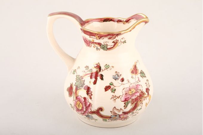 Masons Mandalay - Red Jug - Giftware Tunstall Jug S/S 4 1/4""