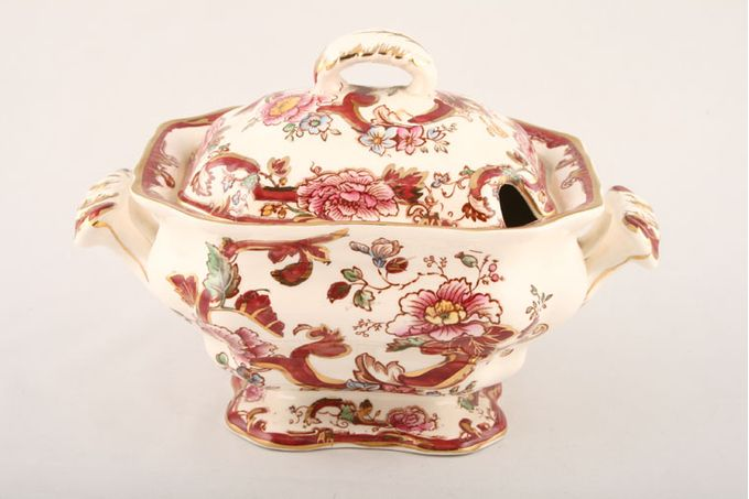 Masons Mandalay - Red Sauce Tureen + Lid