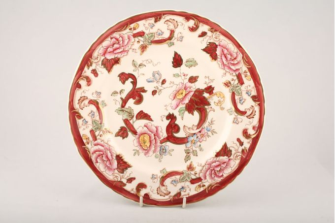 "Masons Mandalay - Red Dinner Plate 10 1/2"""