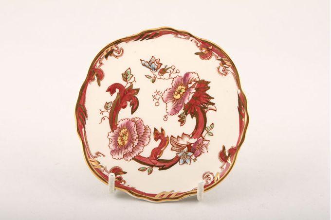 "Masons Mandalay - Red Coaster Bruges coasters 4 x 4"""