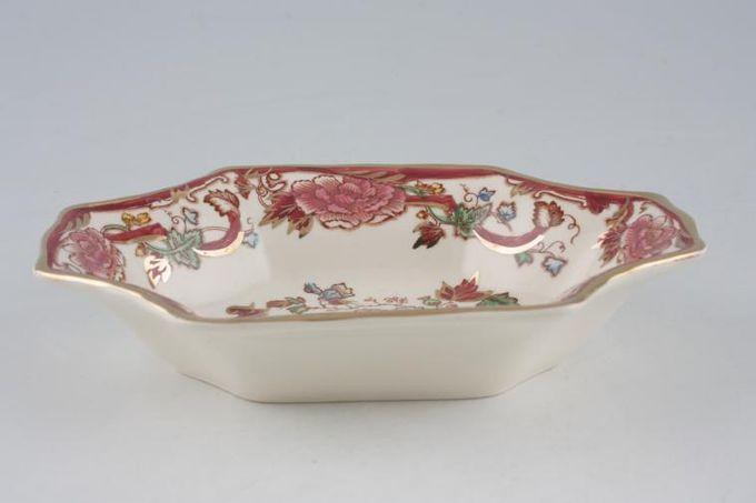 """Masons Mandalay - Red Dish (Giftware) Sweet dish M/S 6 3/4"""""""