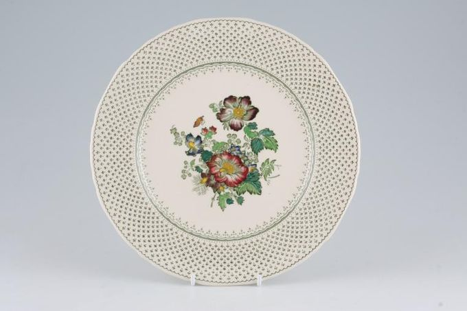"Masons Paynsley - Green Breakfast / Salad / Luncheon Plate 8 3/4"""