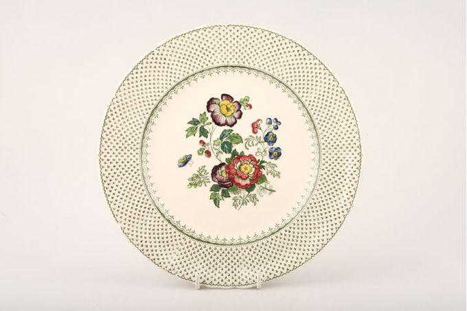 "Masons Paynsley - Green Dinner Plate Sizes may vary slightly 10"""