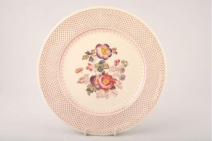 "Masons Paynsley - Pink Breakfast / Salad / Luncheon Plate 8 3/4"""