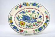 Masons - Regency - Oval Plate / Platter - 12""