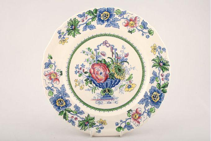 "Masons Strathmore - Pink + Blue Starter / Salad / Dessert Plate 7 3/4"""
