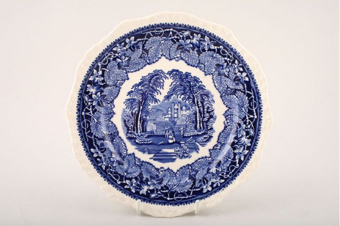 Masons Vista - Blue Breakfast / Salad / Luncheon Plate 8 3/4""