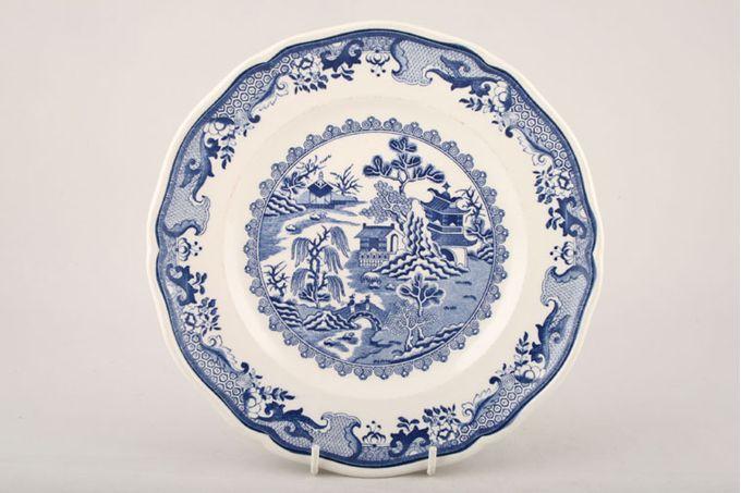 "Masons Willow - Blue Dinner Plate 10 1/2"""