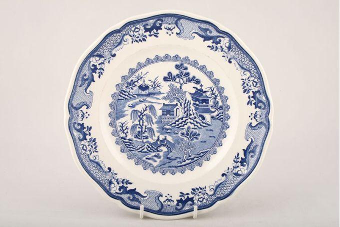 "Masons Willow - Blue Breakfast / Salad / Luncheon Plate 8 3/4"""