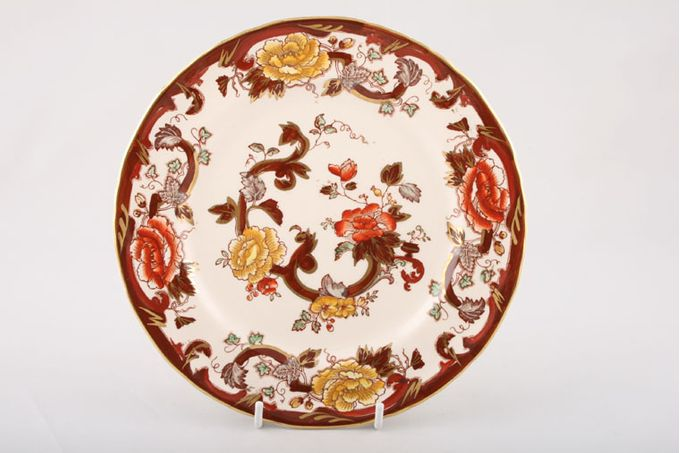 """Masons Brown Velvet Dinner Plate 10 1/2"""""""