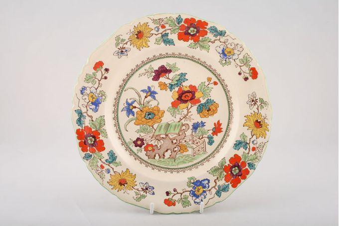 "Masons Bible Pattern - Coloured Dinner Plate 10 1/4"""