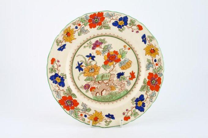 "Masons Bible Pattern - Coloured Breakfast / Lunch Plate 8 3/4"""