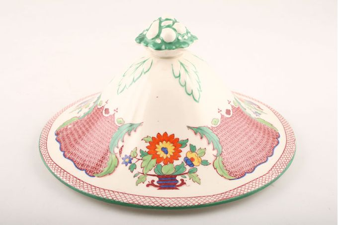 Masons Madrigal - Red Vegetable Tureen Lid Only