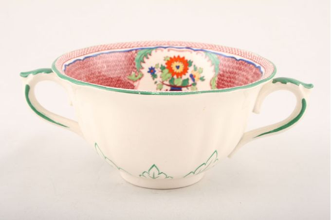 Masons Madrigal - Red Soup Cup 2 Handles