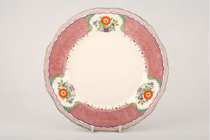"""Masons Madrigal - Red Breakfast / Salad / Luncheon Plate 9 1/4"""""""