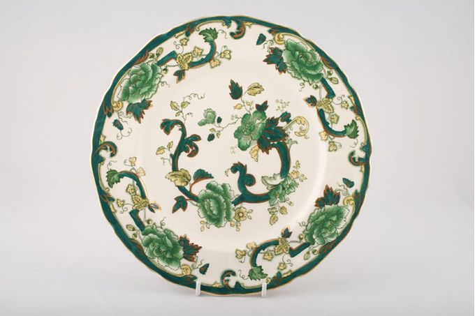 "Masons Chartreuse Breakfast / Salad / Luncheon Plate Thin gold edge 8 7/8"""