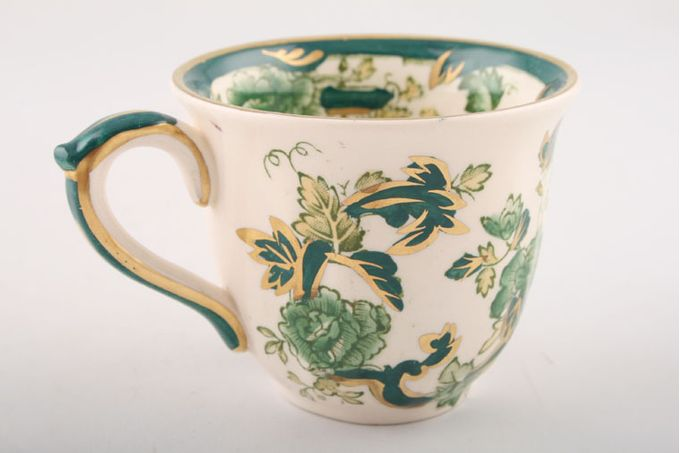 "Masons Chartreuse Coffee Cup 2 5/8 x 2 1/4"""