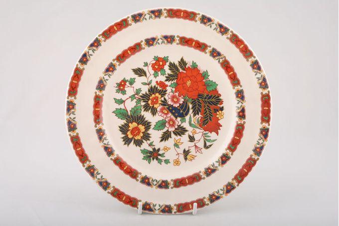 "Masons Chinese Peony Breakfast / Salad / Luncheon Plate 8 3/4"""