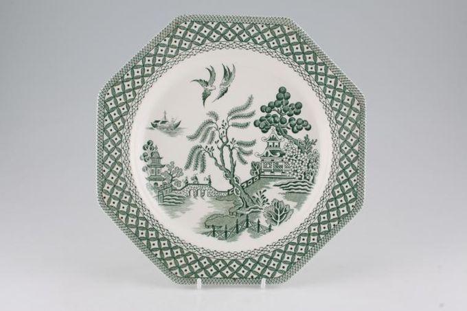 "Meakin Willow - Green Breakfast / Salad / Luncheon Plate 9"""