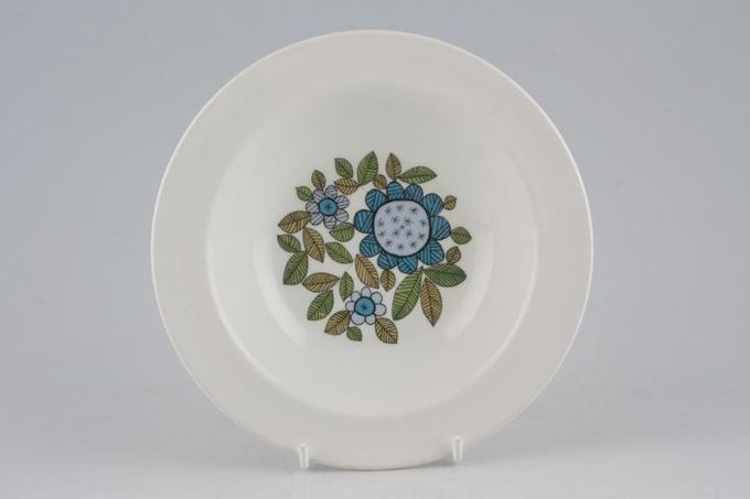 """Meakin Topic Rimmed Bowl 6 1/2"""""""
