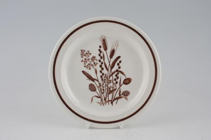 Meakin Country Lane - Brown Wheat Tea / Side / Bread & Butter Plate Some items have Royal Victoria B/S 7""