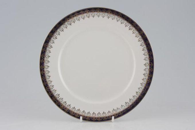 "Meakin Bleu De Roi (Scroll Design on Rim) Starter / Salad / Dessert Plate 7 7/8"""