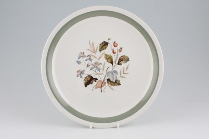 Wood & Sons Alpine White - ALW 3 Dinner Plate 10""