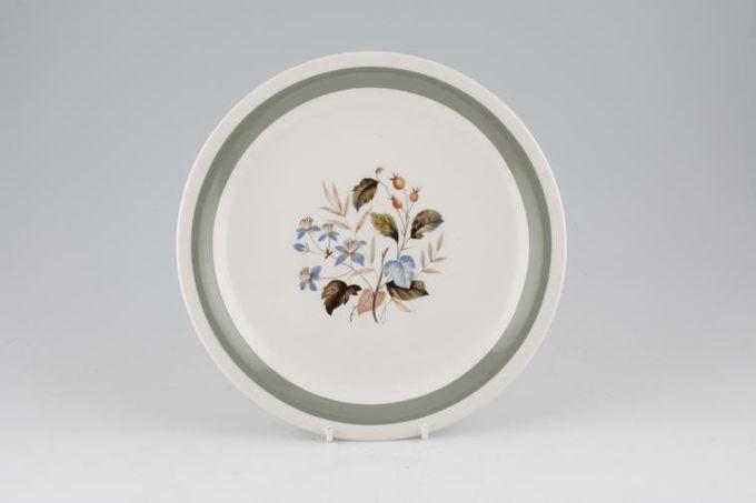 "Wood & Sons Alpine White - ALW 3 Breakfast / Salad / Luncheon Plate 9"""