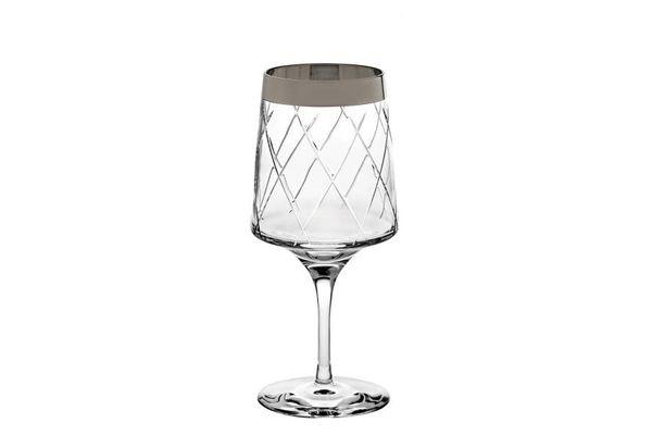 Vista Alegre Biarritz Pair of Large Wine Goblets 0.6l