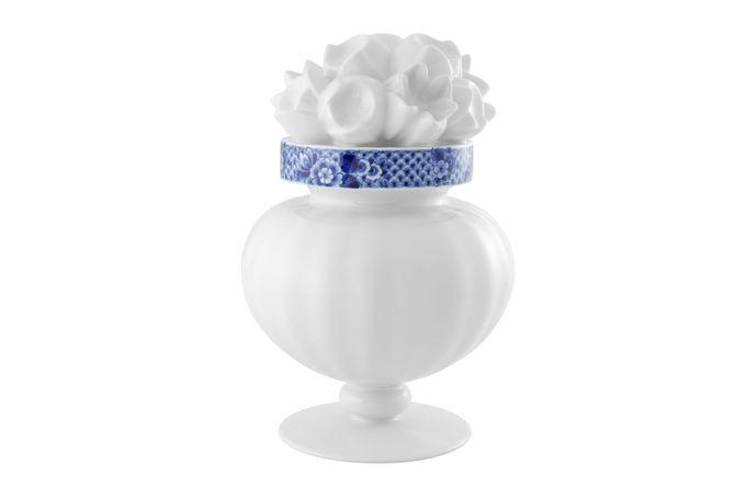 Vista Alegre Blue Ming Flower Vase