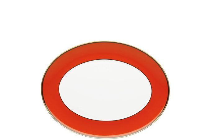 Vista Alegre Casablanca Oval Platter 34.7 x 27cm