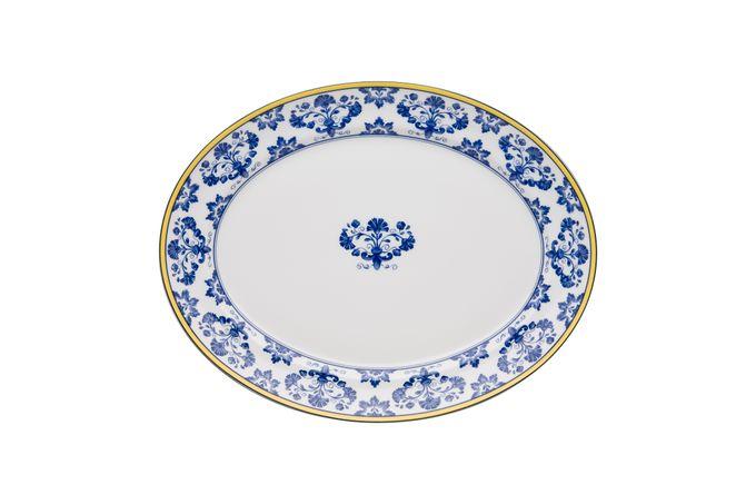Vista Alegre Castelo Branco Oval Plate / Platter 35 x 28cm
