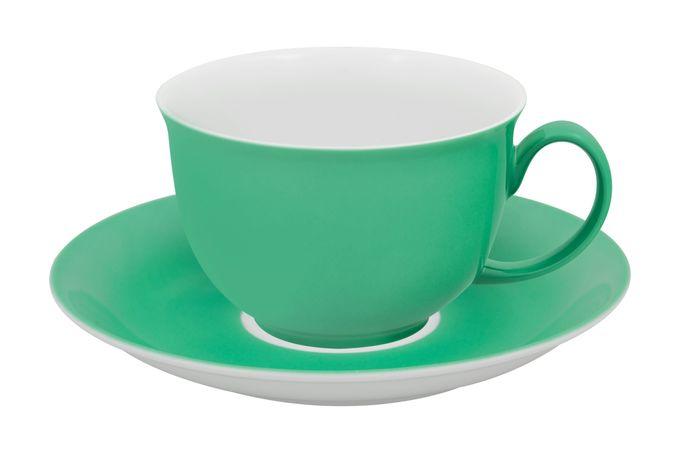 Vista Alegre Colours Breakfast Cup & Saucer Light Green
