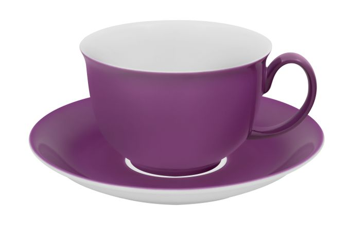 Vista Alegre Colours Breakfast Cup & Saucer Purple