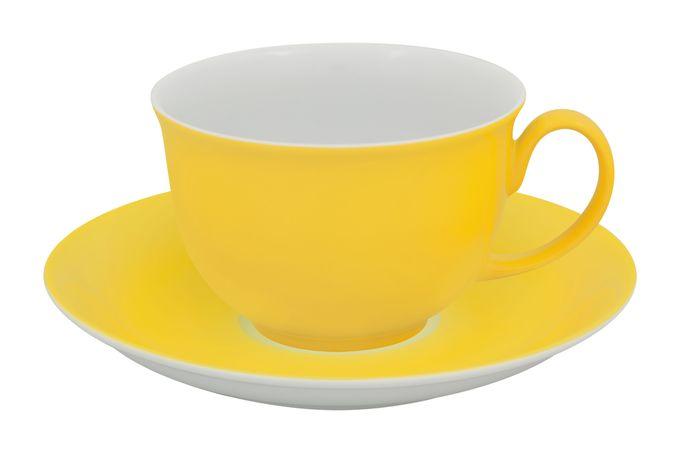 Vista Alegre Colours Breakfast Cup & Saucer Yellow