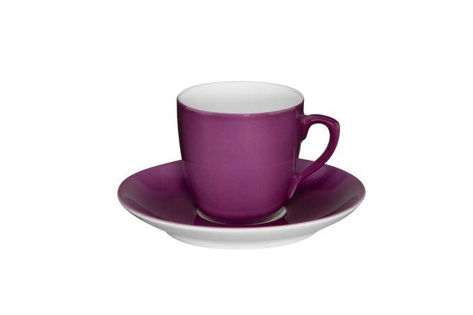 Vista Alegre Colours Coffee Cup & Saucer Purple