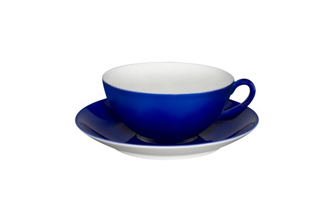 Vista Alegre Colours Teacup & Saucer Blue - Saucer 13.9cm 9.8 x 4.5cm