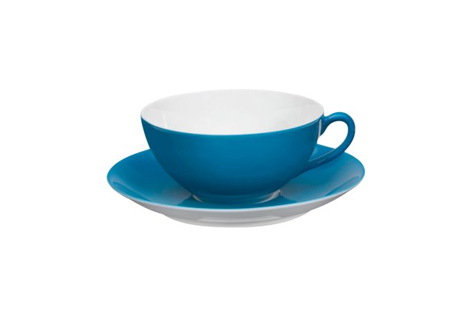 Vista Alegre Colours Teacup & Saucer Light Blue - Saucer 13.9cm 9.8 x 4.5cm