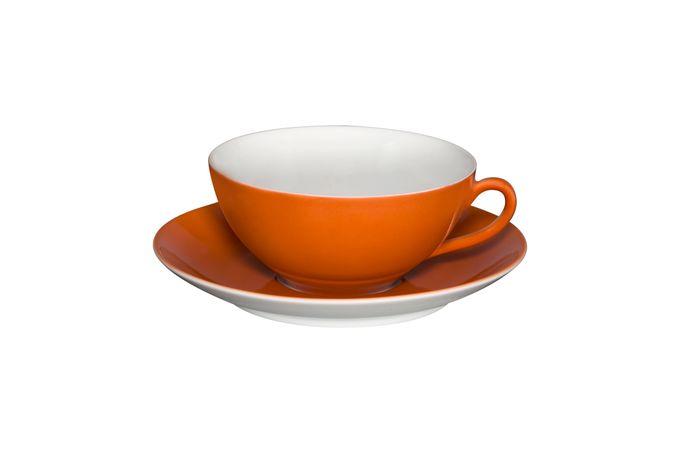 Vista Alegre Colours Teacup & Saucer Dark Orange - Saucer 13.9cm 9.8 x 4.5cm