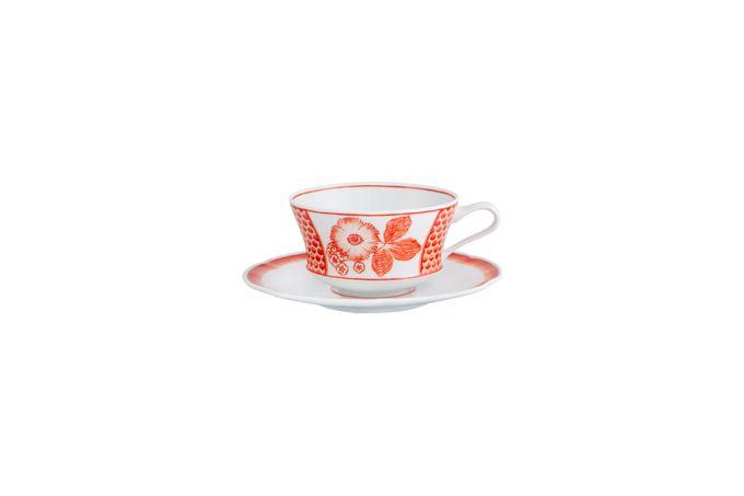 Vista Alegre Coralina Breakfast Cup & Saucer Cup 11.5 x 6.5cm Saucer 17.8cm Diameter