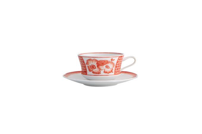 Vista Alegre Coralina Teacup & Saucer Cup 9.5 x 5.6cm Saucer 16cm Diameter