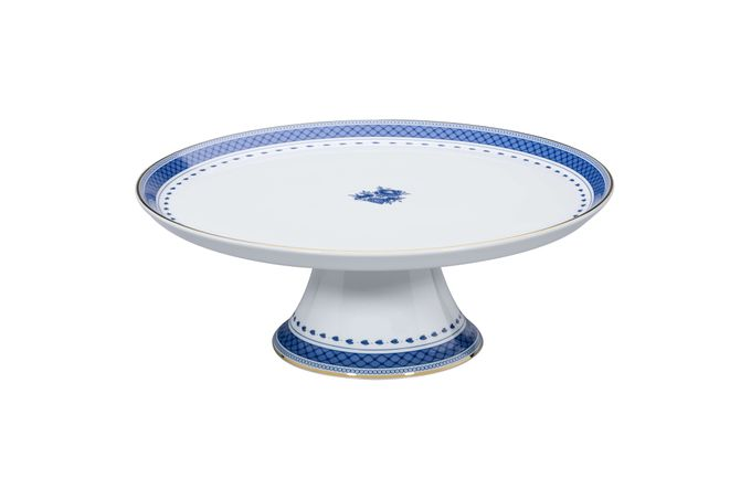 Vista Alegre Cozinha Velha Footed Cake Plate 28.5 x 10.3cm