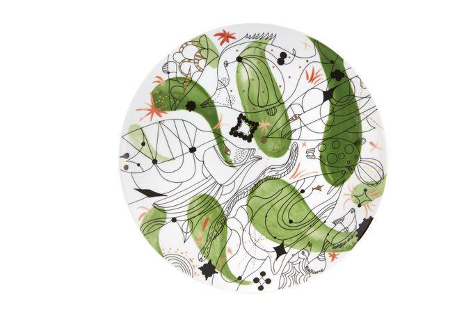 Vista Alegre Folkifunki Charger Green 33cm