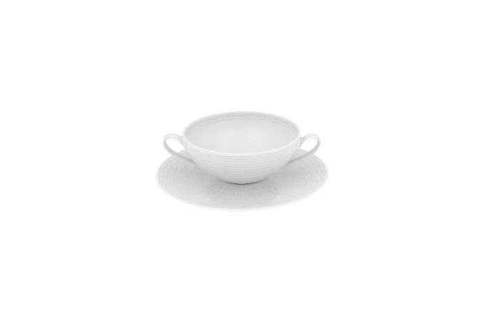 Vista Alegre Mar Soup Cup & Saucer 19.5cm